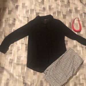 Blouse a. n.a size S black